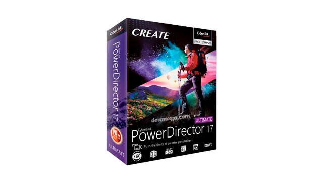 CyberLink PowerDirector Ultimate 17 Full _caja