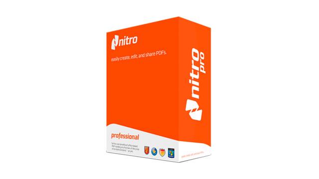 Descargar Nitro Pro 12 Full Serial Key - Caja