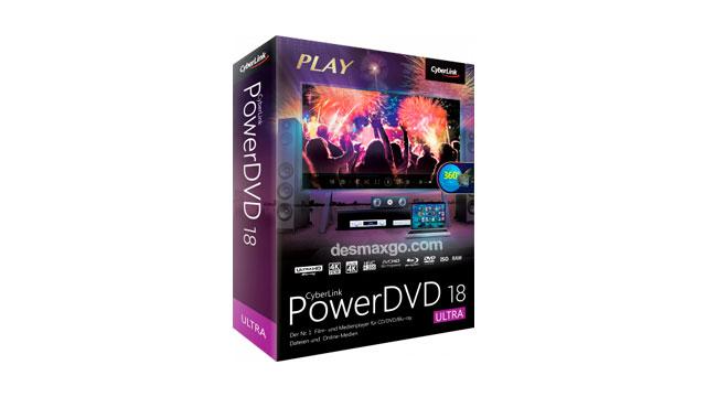 CyberLink PowerDVD Ultra 18 Full Serial Crack Gratis